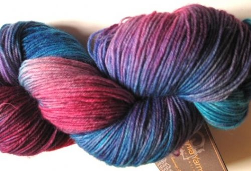 Araucania Ranco Multi - Blend of lilac, pinks and blue